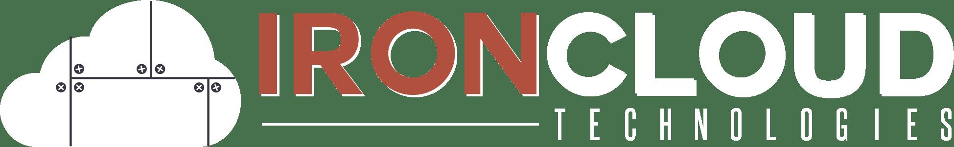 IronCloud logo-white