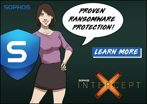 Sophos InterceptX Proven Ransomware Protection in Lafayette Indiana
