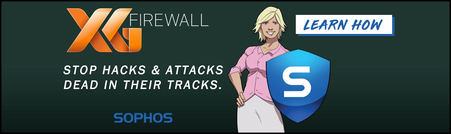 Sophos XG Firewall Stop Hacks & Attacks Dead In Their Tracks in Lafayette Indiana